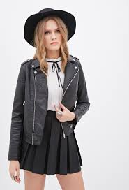 leather moto jacket forever 21 contemporary quilted faux leather moto jacket you u0027ve