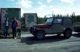 jeep arctic the arctic circle along the dalton highway in 1984 album on imgur