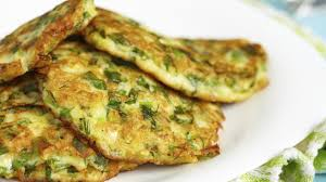 cuisine courgette courgette fritters food channel