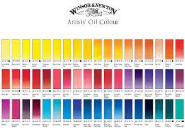 oil color basic set winton oil painting set