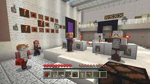 minecraft redstone specialists skin pack on ps4 official