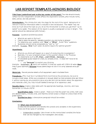 biology lab report template 9 how to write a biology lab report homed