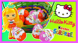 kitty kinder surprise eggs 2017 unboxing video limited