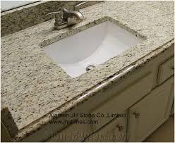 giallo ornamental granite bath countertop yellow granite vanity