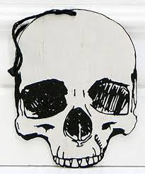 co white skull ornament zulily