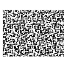 japanese pattern black and white japanese swirl pattern white and black postcard zazzle com