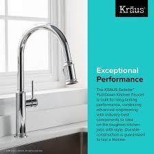 kitchen faucet pictures kraus sellette pull single handle kitchen faucet reviews