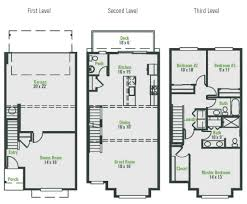 Dual Occupancy Floor Plans Topaz New Home Plan In Arbor Mist Arbor Mist Townhomes By