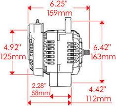 powermaster black denso xs volt race alternator 160 amp 1 wire no