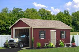 4 Car Garages by Buy Sheds And Garages Direct From Pa Setup Included