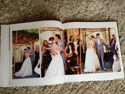 our wedding photo album blending beautiful wedding album