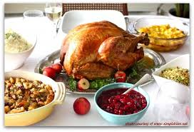 traditional thanksgiving dinner menu recipe