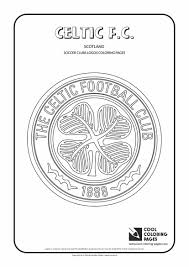 celtic f c logo coloring page cool coloring pages