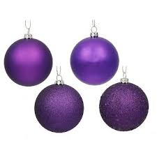 purple ornaments tree decorations target
