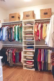 organizing master bedroom closet home design ideas