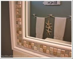 Beachy Bathroom Mirrors My Boys Themed Bathroom Sand And Sisal
