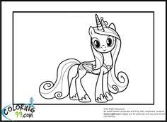 princess cadence coloring pages diversen pinterest princess