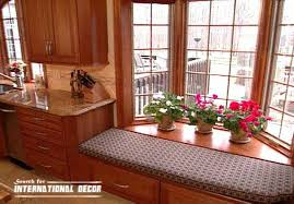 bay window kitchen ideas design kitchen with bay window basic tips interior decoration