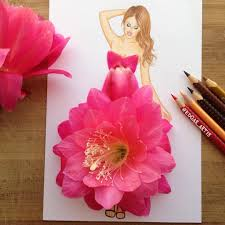 Floral Food by 20 Cactus Flower Edgar Artis Drink Food Art Dresses And Gowns