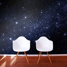 Galaxy Themed Bedroom Outer Space Wallpaper Murals
