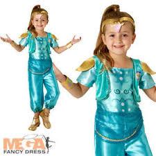 shimmer u0026 shine girls fancy dress kids arabian nights genie childs