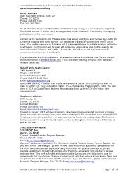 Pediatrician Resume Sample by Private Practice Job Opportunity List