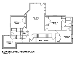 Floor Plan Cottage by The Forest Cottage Aspen Homes