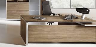 Desk L Shape Eos Italy Executive Desk By Las Mobili Minimalist But Stylish Design