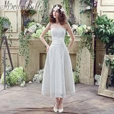 summer wedding dresses uk modabelle 2016 summer white lace sweetheart a line tea length
