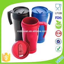 coffee mugs that stay plastic coffee mug with handles plastic
