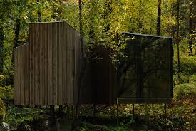 where nature meets modern architecture