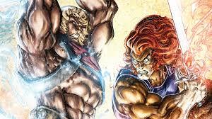 thundercats he man thundercats 4 dc