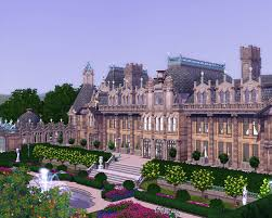 chateau home plans why plumbobs are green waddesdon manor project