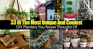 diy planters 33 of the most coolest and unique diy planters you never thought of