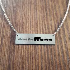mom gifts mama bear necklace gifts for mom gifts valentine s day gift for