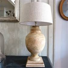 home accessories unique wooden table lamp design homihomi decor a distressed