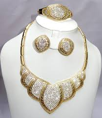 gold plated fashion necklace images African gold plated jewelry sets uk jpg