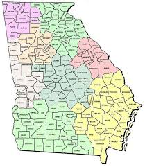 county map ga map of counties my