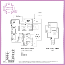 Duplex Floor Plan Garden Duplex Sea Horizon Ec