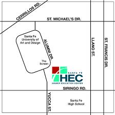 Santa Fe New Mexico Map by Maps U2013 Santa Fe Community College