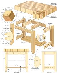 free kitchen island plans butcher block island with 3 d effect canadian home workshop