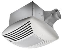 Extractor Fan Bathroom Delta Breez Sig110l Signature 110 Cfm Exhaust Fan With Light