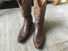 lucchese s boots size 11 lucchese leather wide e w boots for ebay