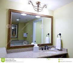 Mirror Above Bathroom Sink Stock Photos Images  Pictures - Bathroom sink mirror