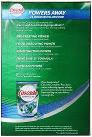amazon com cascade complete powder dishwasher detergent fresh
