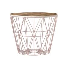 side table with baskets side table with storage baskets riverside