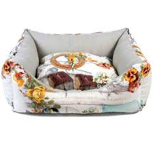 Shabby Chic Dog Bed by Petuky Shabby Chic Cottage Dog Bed Medium On Sale Free Uk Delivery