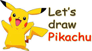 how to draw pikachu easy pokemon characters a cute chibi
