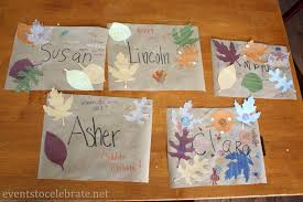 thanksgiving crafts for kids placemats events to celebrate