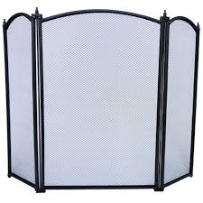 Free Standing Fireplace Screens by Fire Guard Freestanding Panel Spark Fireplace Screen Protector